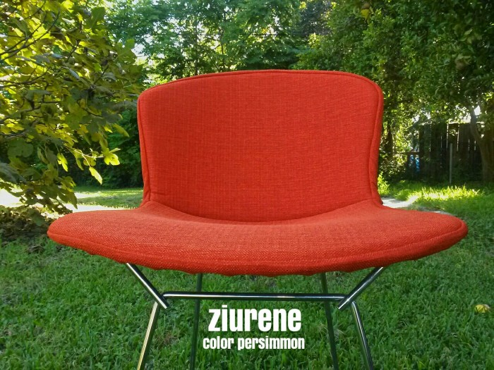 Awesome Bertoia Chairs Covers Cushion Pads Repl Store Squirreltailoven Fun Painted Chair Ideas Images Squirreltailovenorg